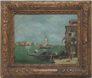 Auktion München Malerei 19. Jahrhundert Venedig