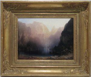 Auktion München Scheublein Heilmayer Gemälde 19. Jahrhundert Landschaft