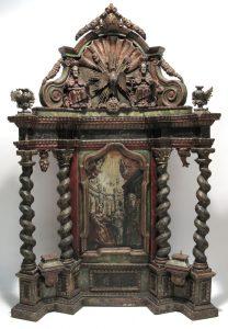 Auktionsergebnisse München Skulptur: Hausaltar, 18. Jahrhundert