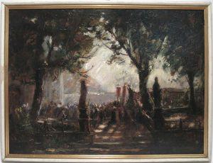 Auktion München Malerei 19. Jahrhundert Landschaft See