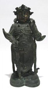 Auktionsergebnis Asiatika München China Wächterfigur