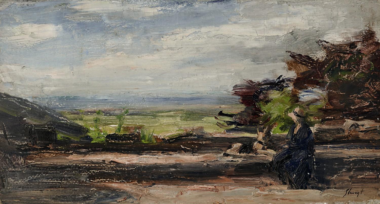 Gemälde Impressionismus Max Slevogt Pfalz Auktion München