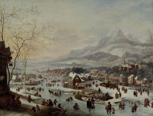 Alte Meister Niederlande Winterlandschaft Auktion München