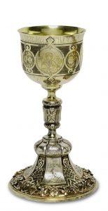Messkelch Silber Russland, 19. Jahrhundert, Auktion München