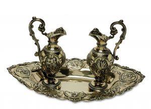 Messgarnitur, Silber, Hippolyte Puche, Auktion, München
