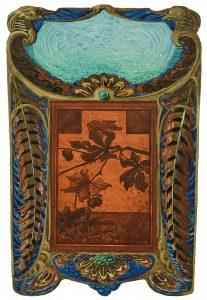 Jugendstil Graphik: Eugène Gaillard, Dekorentwurf, wird am 30. Juni in einer Auktion i9n München versteigert