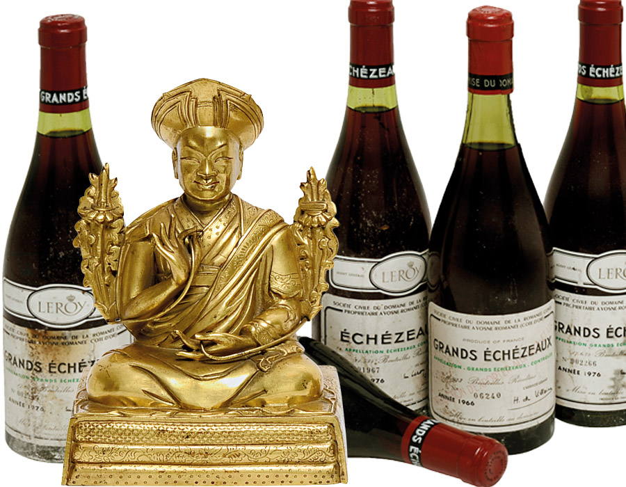 Auktionsergebnisse Scheublein Art & Autkionen München Wein Asiatika