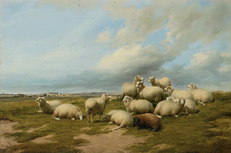 Thomas Sydney Cooper Englische Malerei Auktion München Scheublein