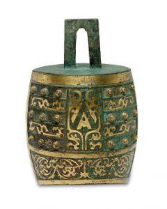 Ritualglocke (Zhong) Auktion München Scheublein Asiatika