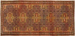 Auktionsergebnisse Scheublein Art & Auktionen, München, Kategorie Teppiche: Malayer