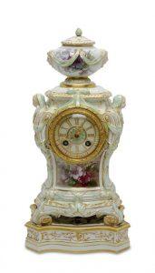 Auktionsergebnisse Scheublein Art & Auktionen, München, Kategorie Einrichtung: Pendule