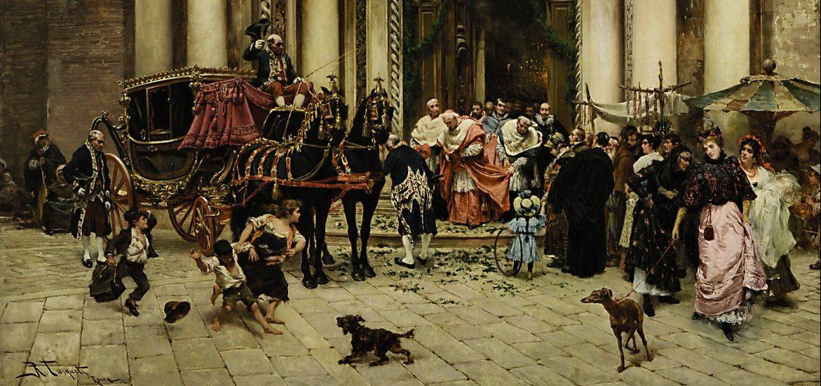 Gemälde Malerei 19. Jahrhundert Tusquets Auktion München Scheublein Historienmalerei