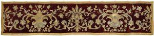 Antependium liturgische Textilien Parament Auktion Scheublein Art & Auktionen München