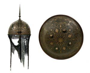 Kulah Khud Rundschild Persien Scheublein Auktion Waffen München