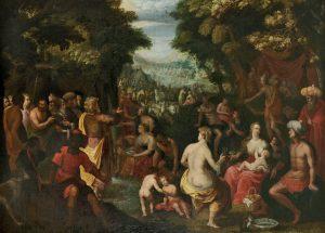 Altmeister Gemälde 16. - 18. Jh., Flämisch, Moses, Flandern