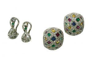 Schmuck Ohrclipse Diamant Utta Danella Scheublein Auktion