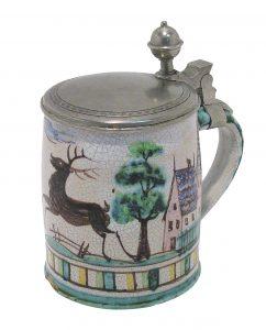 fundgrube auktion jugendstil keramik aus bayern scheublein. Black Bedroom Furniture Sets. Home Design Ideas