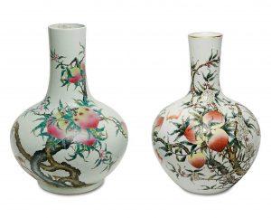 Nine Peaches-Vase Auktion München Scheublein