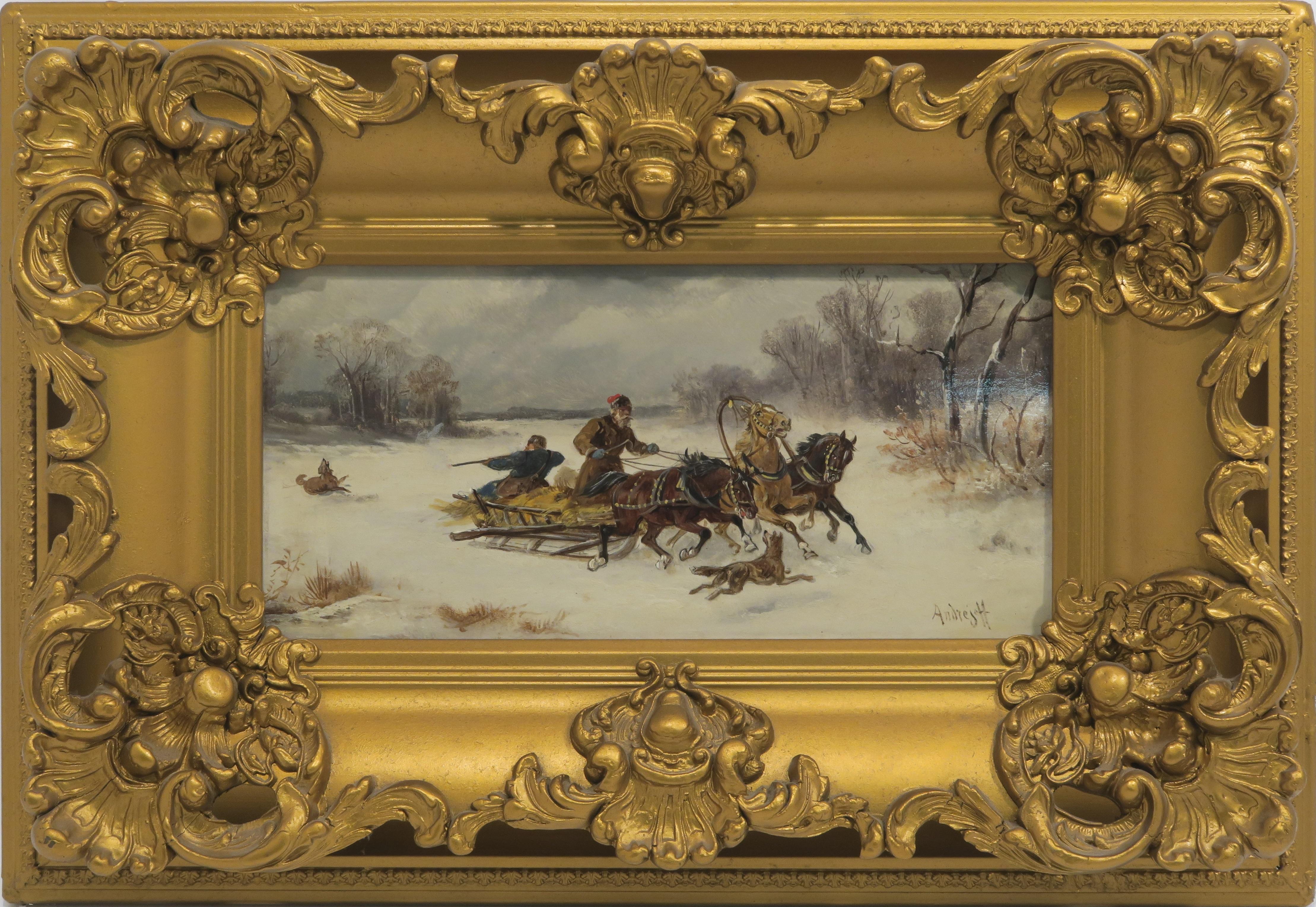 Malerei Russland Andrejeff Auktion Scheublein München