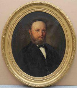 Martens Porträt 19. Jh. Scheublein