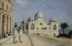 Orientalist Moschee Orientalismus Auktion München Scheublein