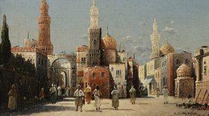 Alphons Leopold Mielich Auktion München Scheublein