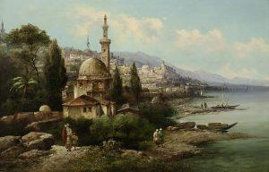 Orientalist Orientalismus Landschaftsmalerei Auktion München Scheublein