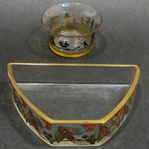Jugendstilglas Steinschönau Haida Auktion München Scheublein