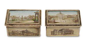 Mikromosaik Dose Rom Scheublein Auktion München