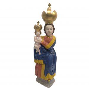 Holzscheitelmadonna Madonna Pribram Auktion München Scheublein