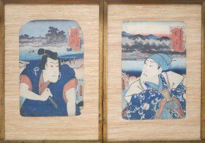 Holzschnitt Japan Kunisada Auktion München Scheublein