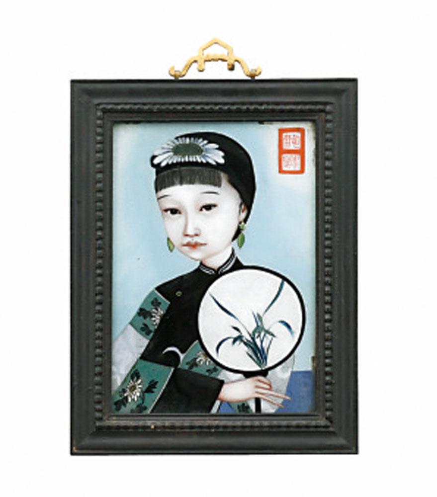 China Hinterglas Hinterglasmalerei Auktion München Scheublein