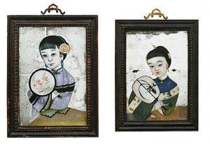 chinesische Hinterglasbilder Auktion München Scheublein