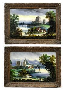 Hinterglas Auktion München Scheublein