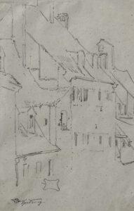 Spitzweg Zeichnung Auktion Scheublein