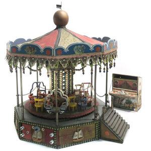 Spielzeug-Karussell Auktion München Scheublein