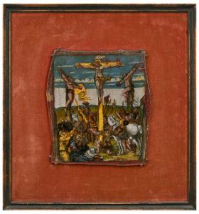 Kalvarienberg Hinterglas Venetien Tirol Auktion München Scheublein
