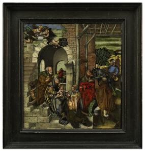 Hinterglaskunst 16. Jh. Auktion München Scheublein