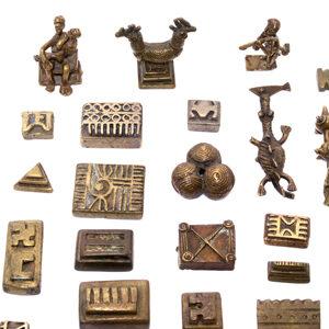 Akan Goldgewichte Ashanti Auktion München Scheublein